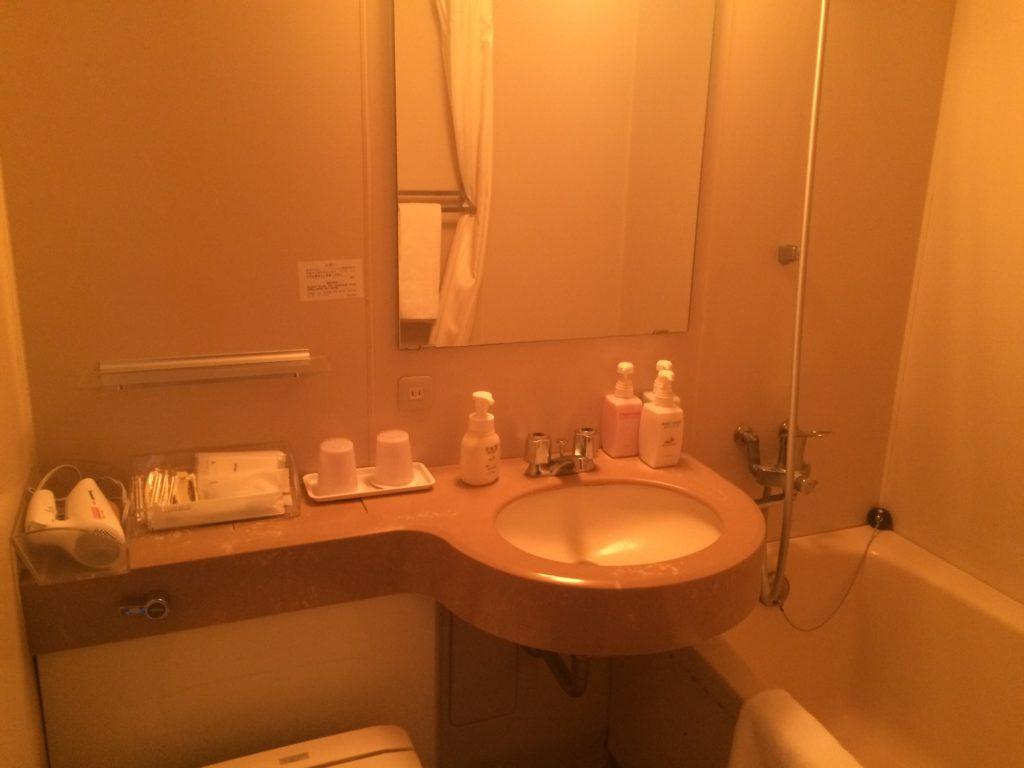 ベストウェスタン レンブラントホテル鹿児島リゾート シャワー