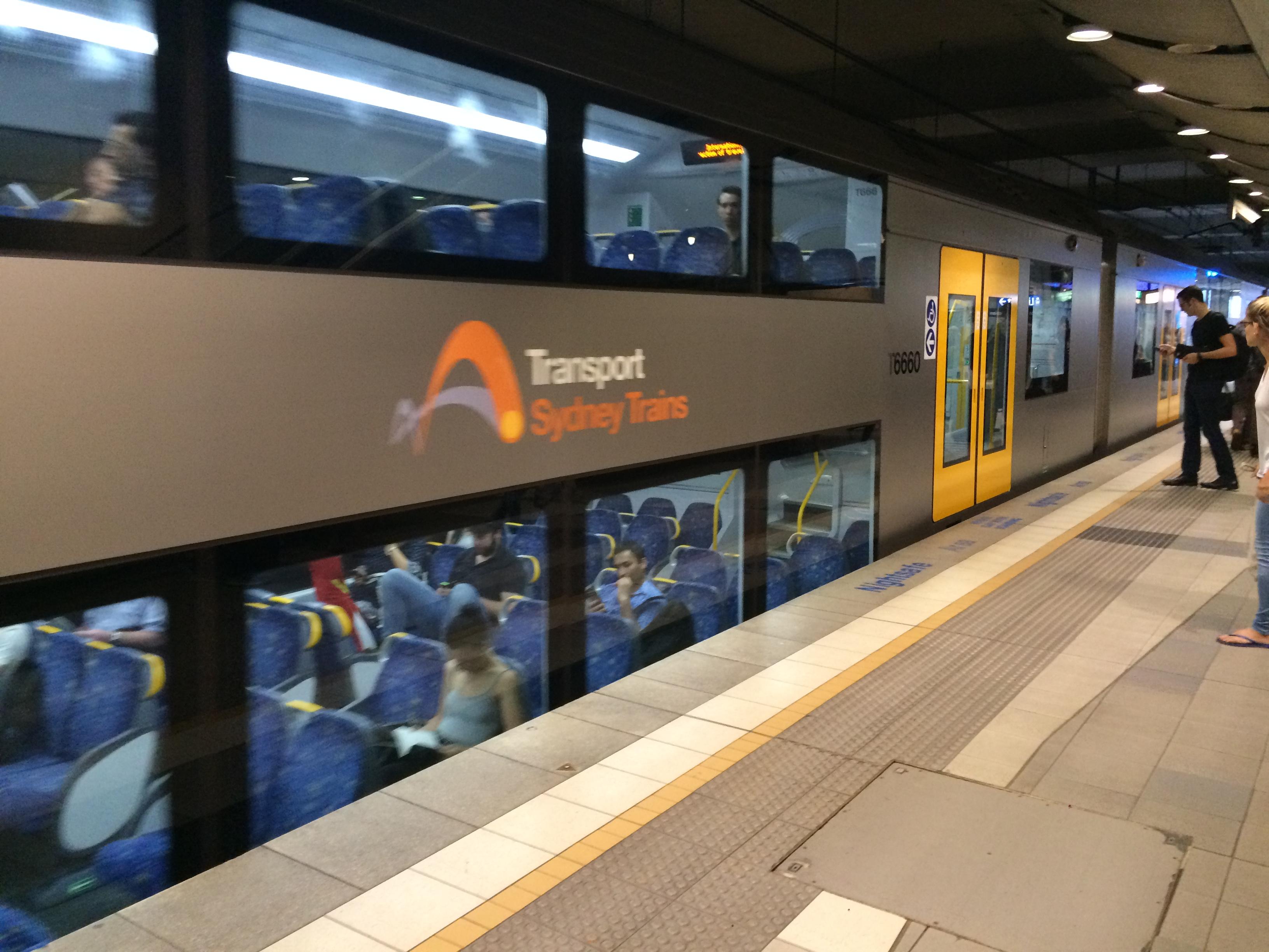 トランスポート シドニー空港ライン