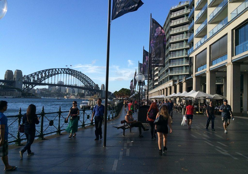 20年振りにANAでシドニーに行ってみた