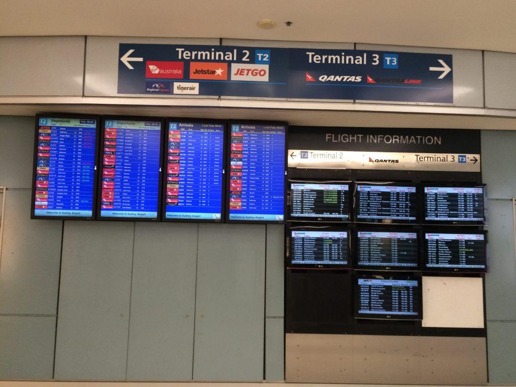 シドニー空港 国内線