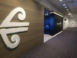 シドニー空港のニュージーランド航空ラウンジ