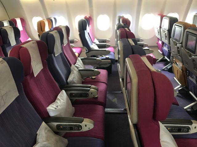 タイ航空(TG413)バンコク-シンガポール搭乗記