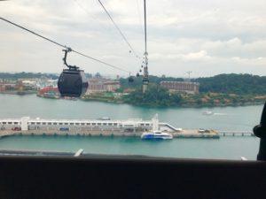シンガポールケーブルカー