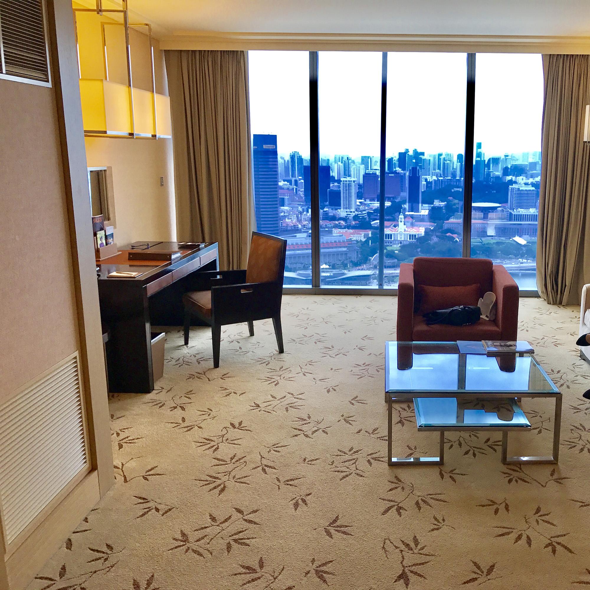 マリーナベイサンズ 49階の眺望(昼)