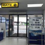 バンコク航空(PG294)パタヤ(ウタパオ)-サムイ 搭乗記