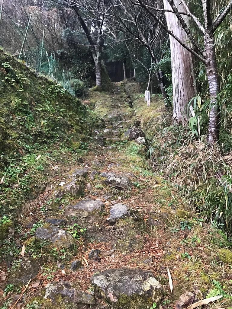 和霊神社の坂