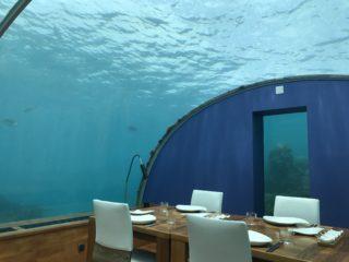 コンラッドモルディブ水中レストランITHAA(イター)