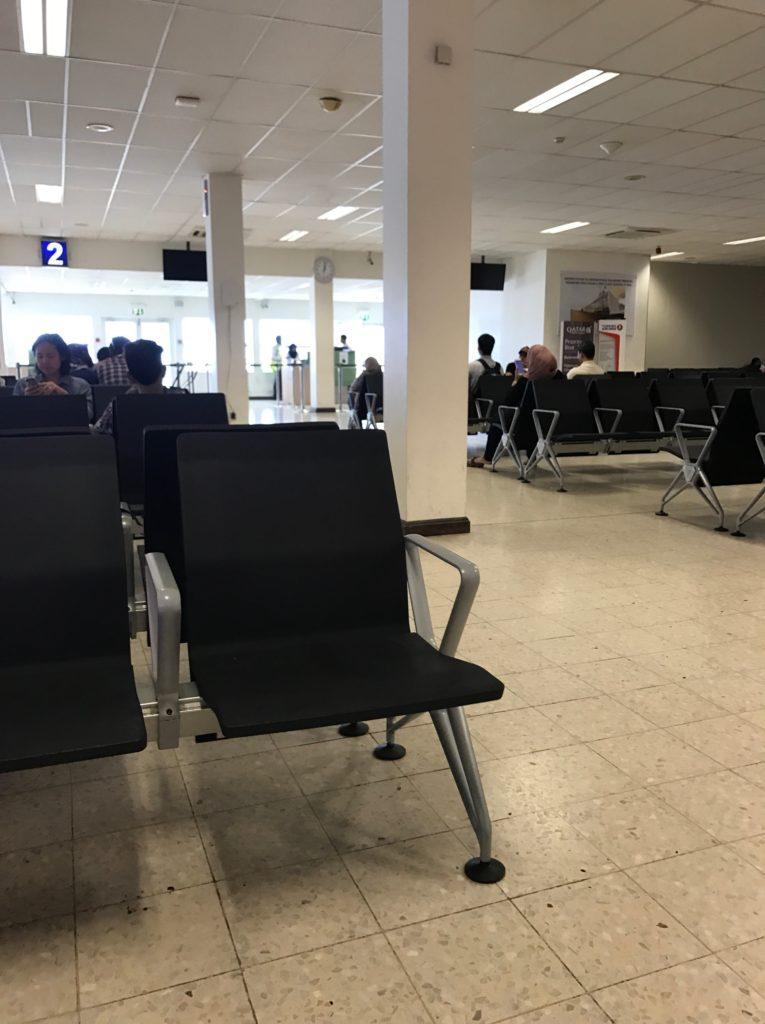 ナシル(モルディブ マレ)空港 出発ゲート