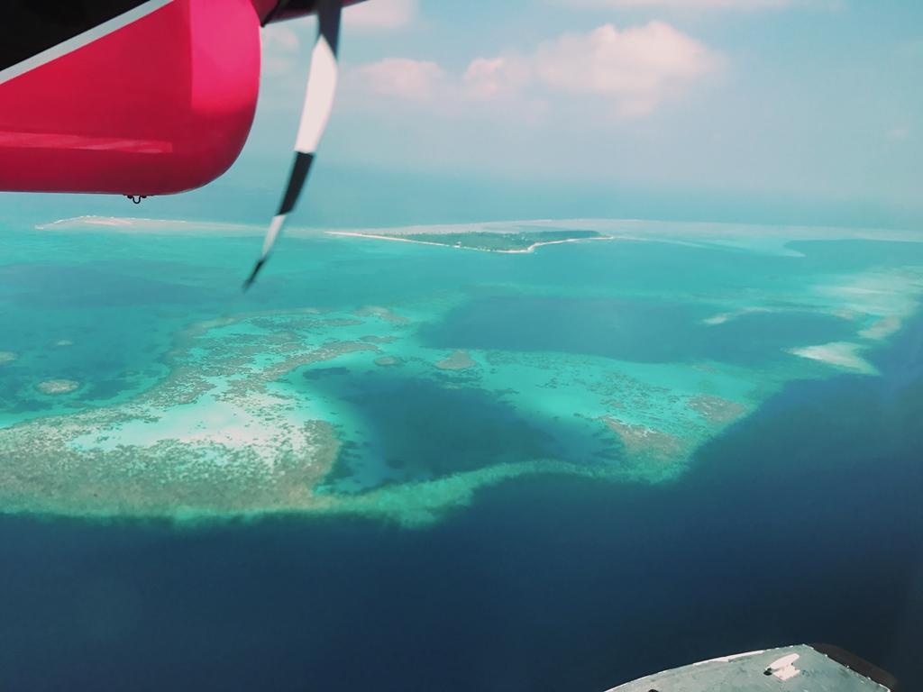 モルディブ 水上飛行機