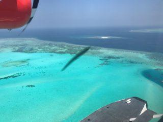 モルディブ水上飛行機 搭乗記