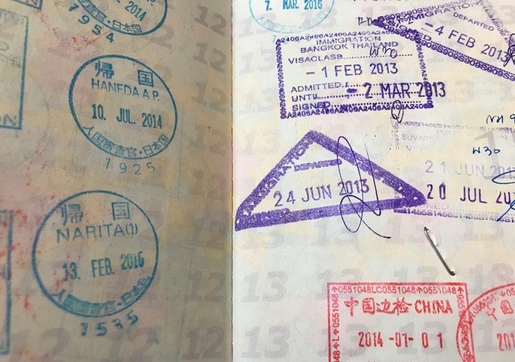 ここ5年で行った海外をまとめてみた