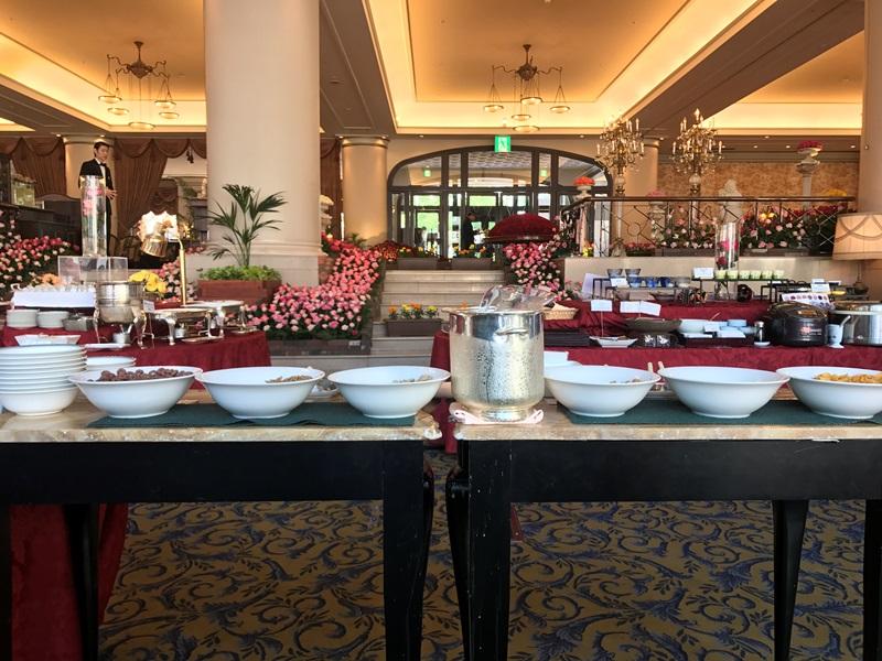ホテルヨーロッパでの朝食