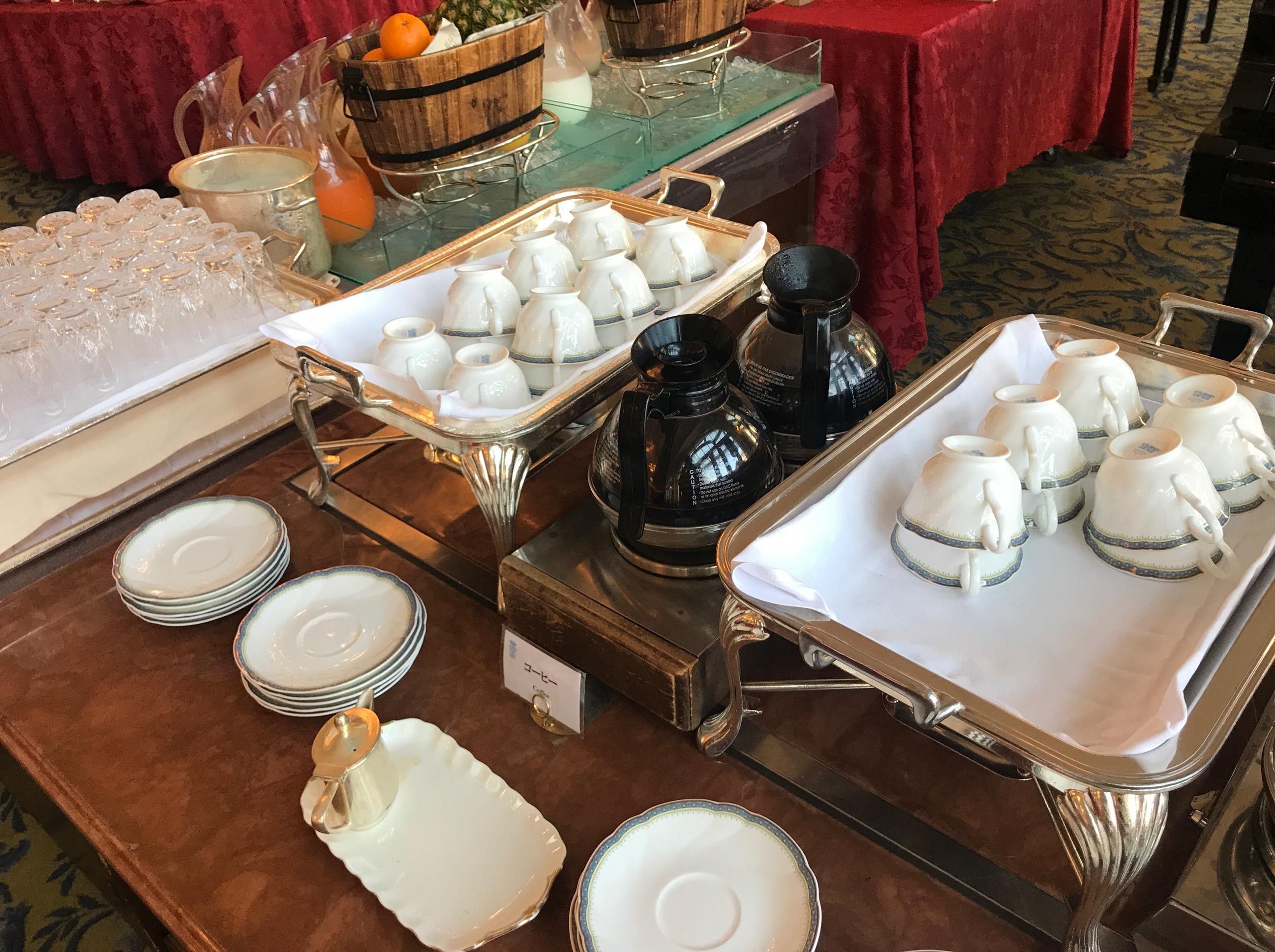 アンカーズラウンジの朝食