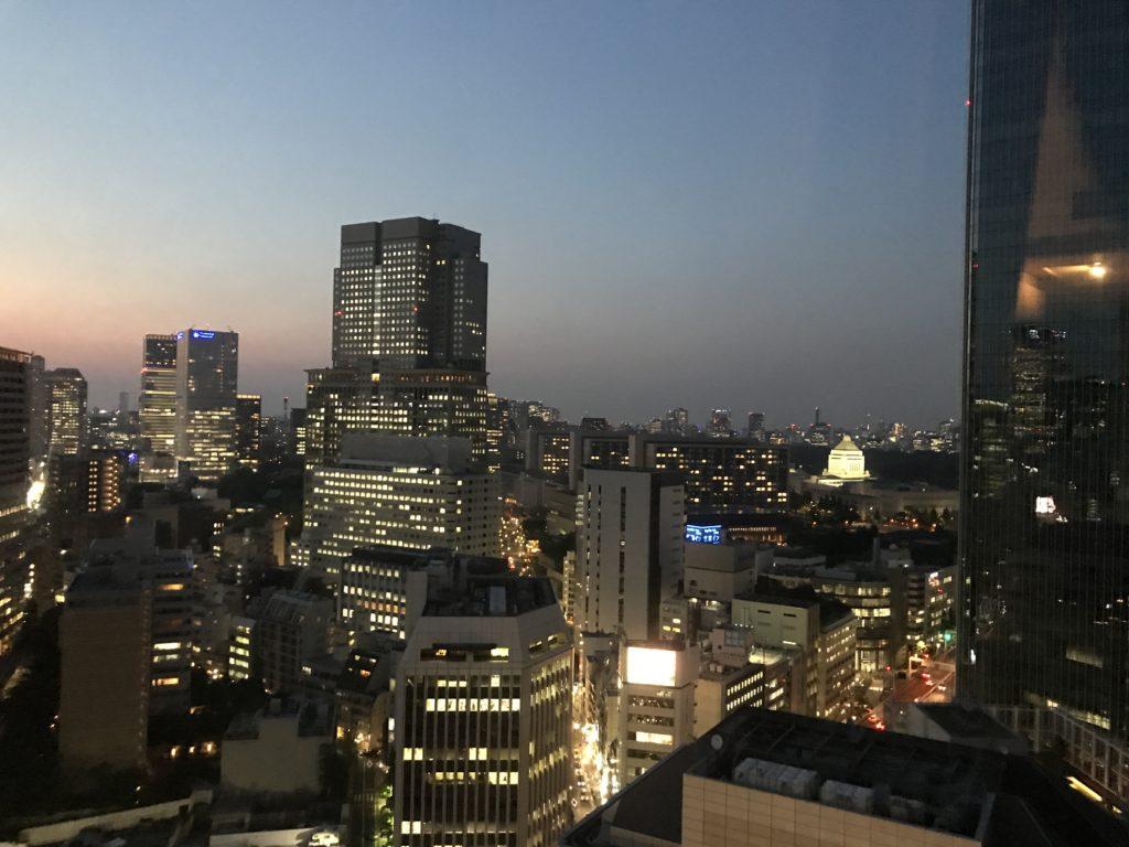 ANAインターコンチネンタル東京 デラックスルーム