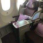 タイ国際航空(TG646)バンコク-中部国際 搭乗記