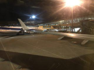 中部国際-羽田 実質飛行時間