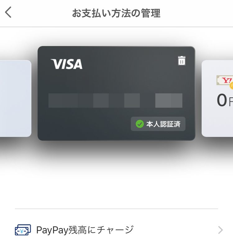 paypay登録も可能