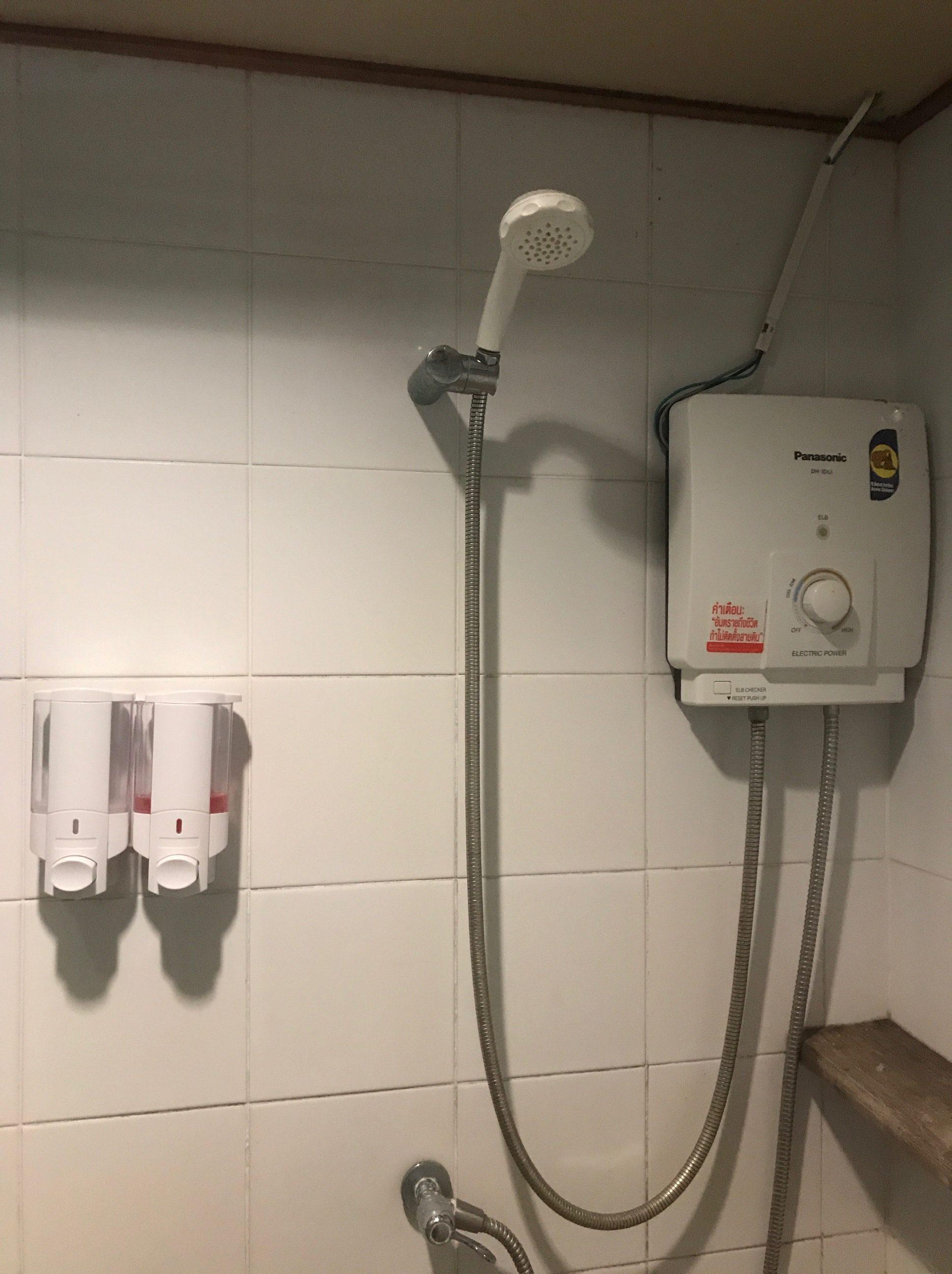 ナンユアン アイランド ダイブ リゾート シャワー
