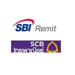SBIレミット SCB銀行(サイアム商業銀行)口座宛の送金方法