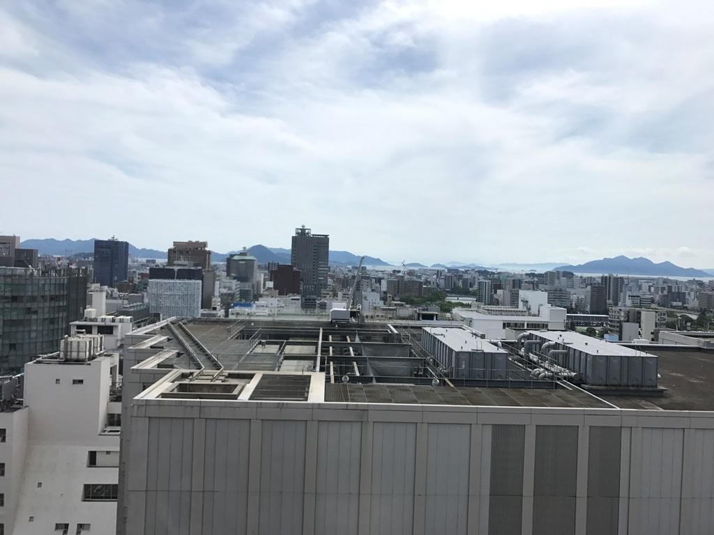 リーガロイヤルホテル広島 眺望