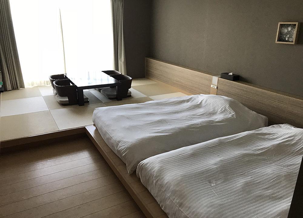 熱海シーサイド スパ&リゾートのベッド