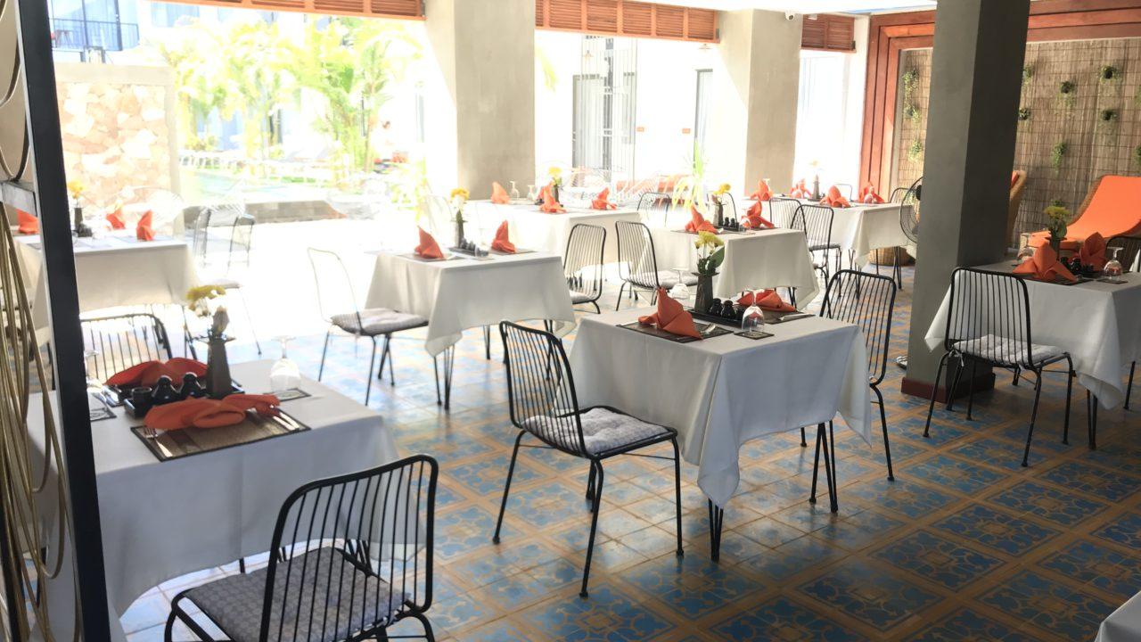 Central Blanc d'Angkor レストラン