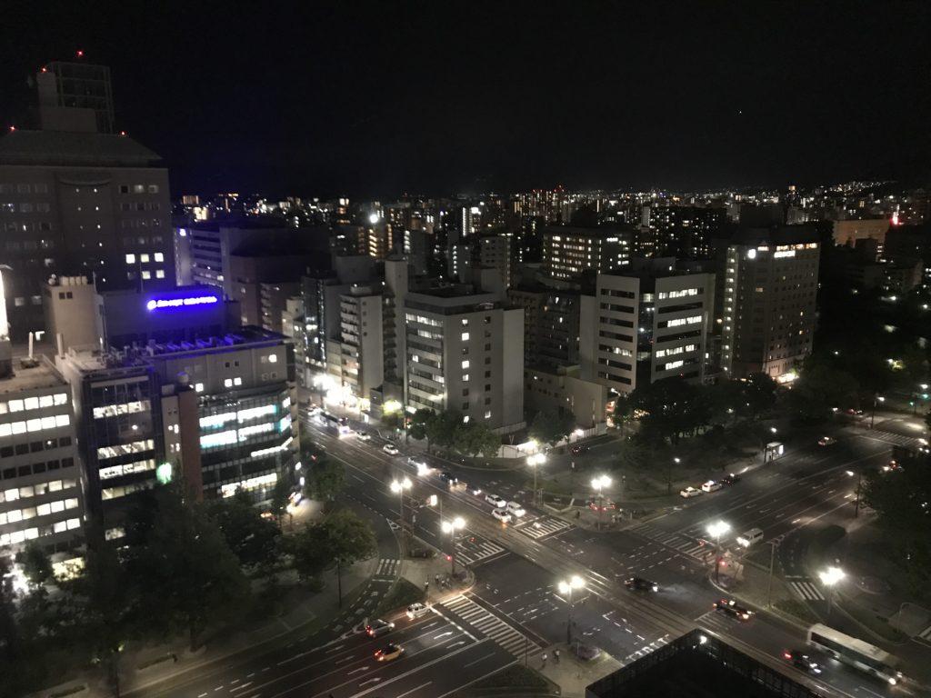 ANAクラウンプラザ広島 眺望