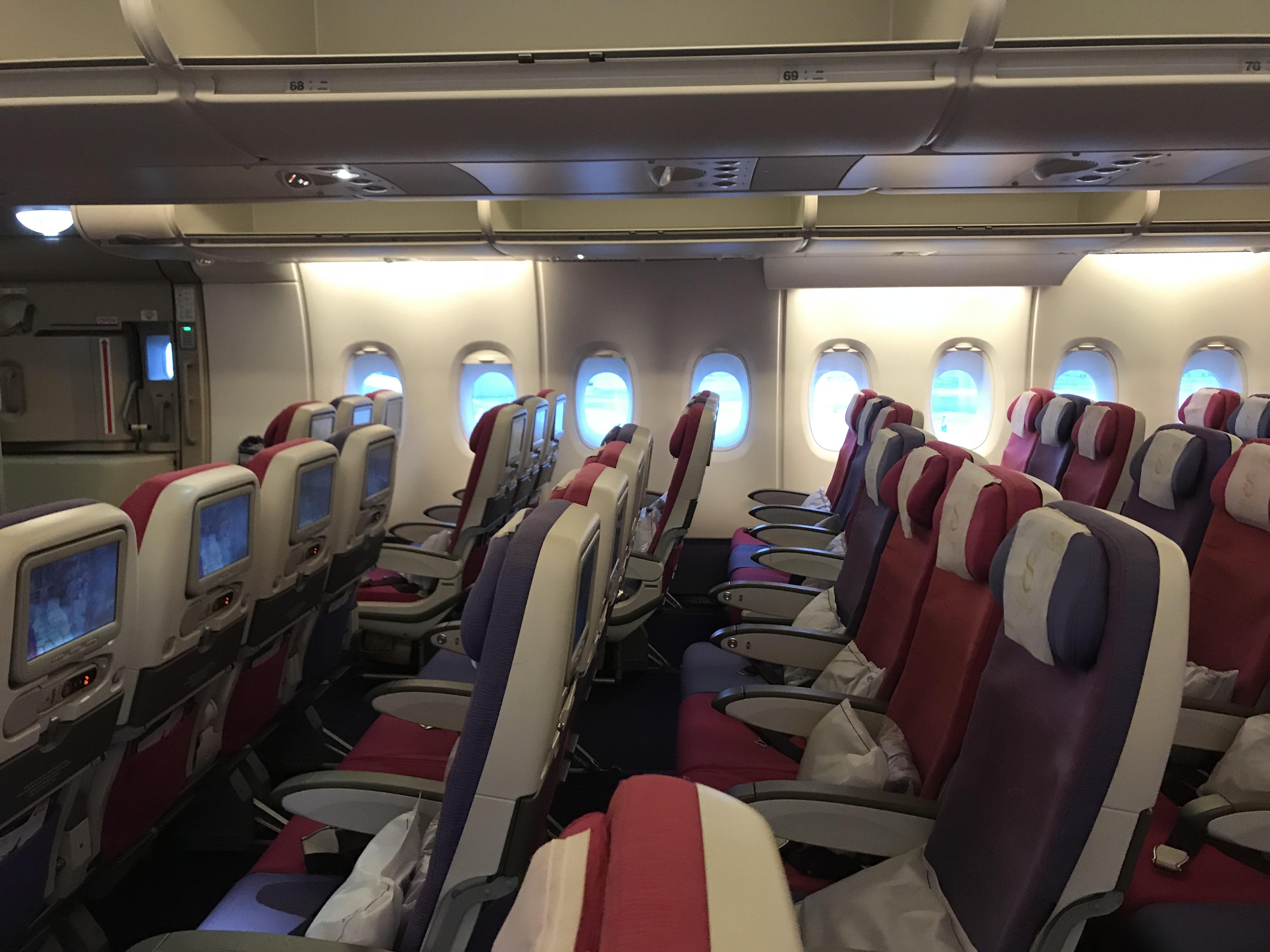 A380 座席 エコノミー
