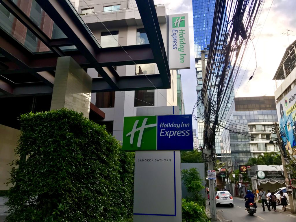 Holiday Inn Express : Bangkok Sathorn
