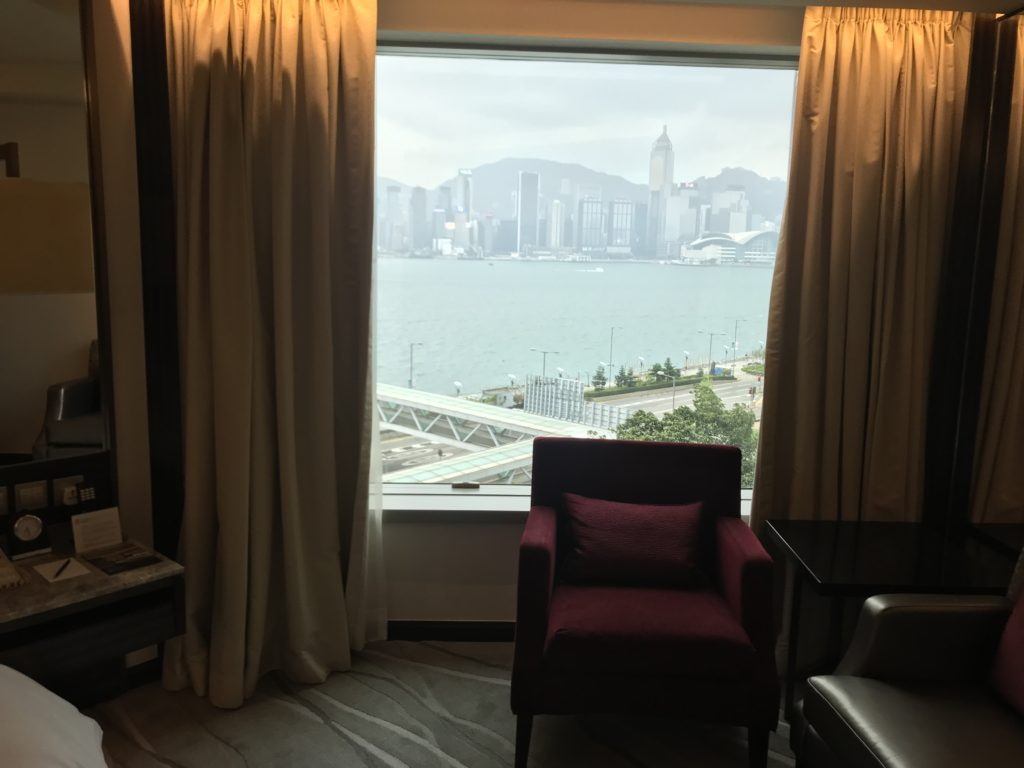 インターコンチネンタル グランドスタンフォード香港 客室