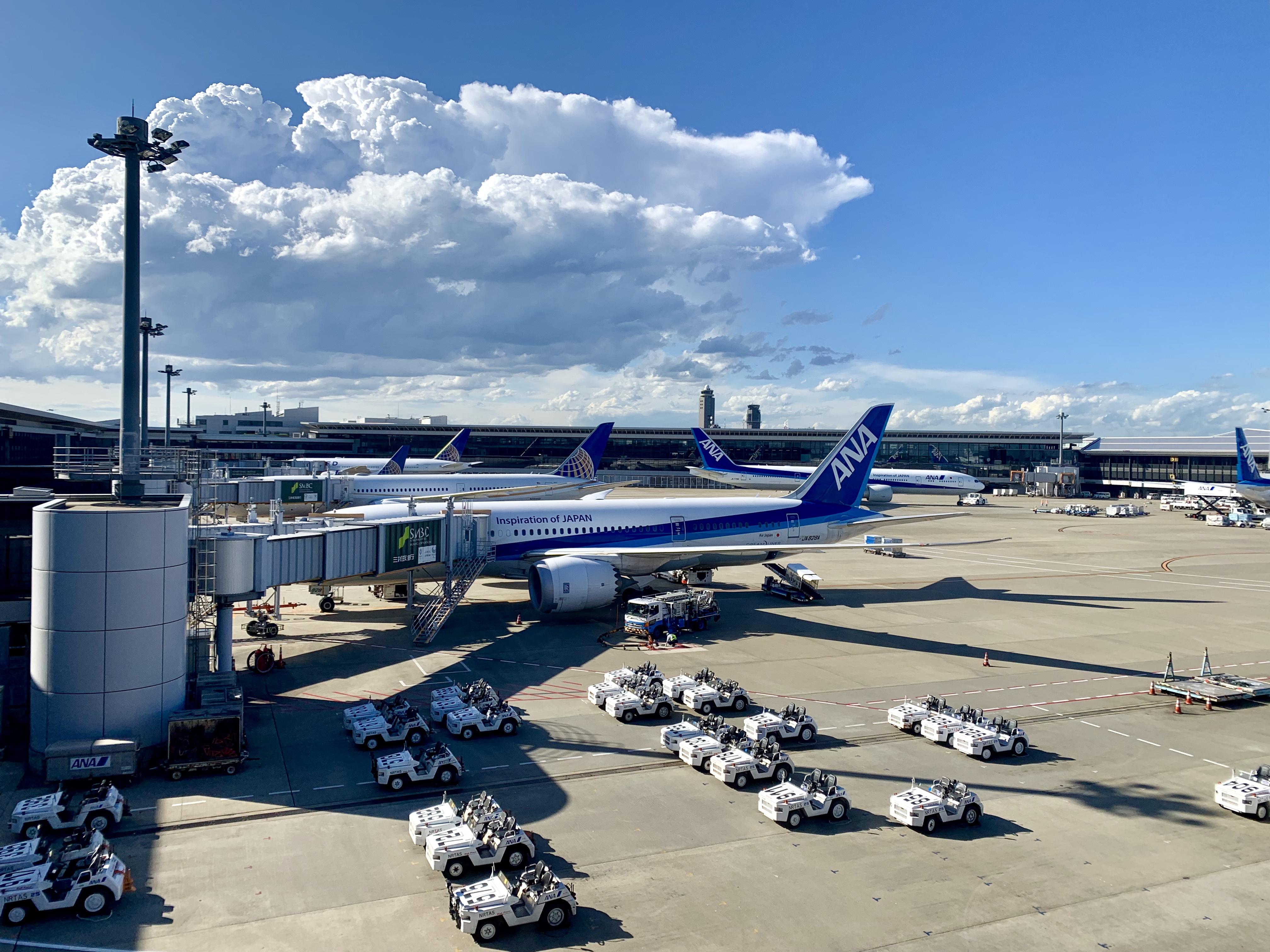 NH807 成田-バンコク B787-9 (789)ビジネスクラス搭乗記