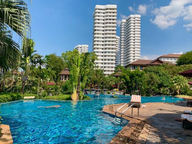 インターコンチネンタル・パタヤリゾート Pool Terrace