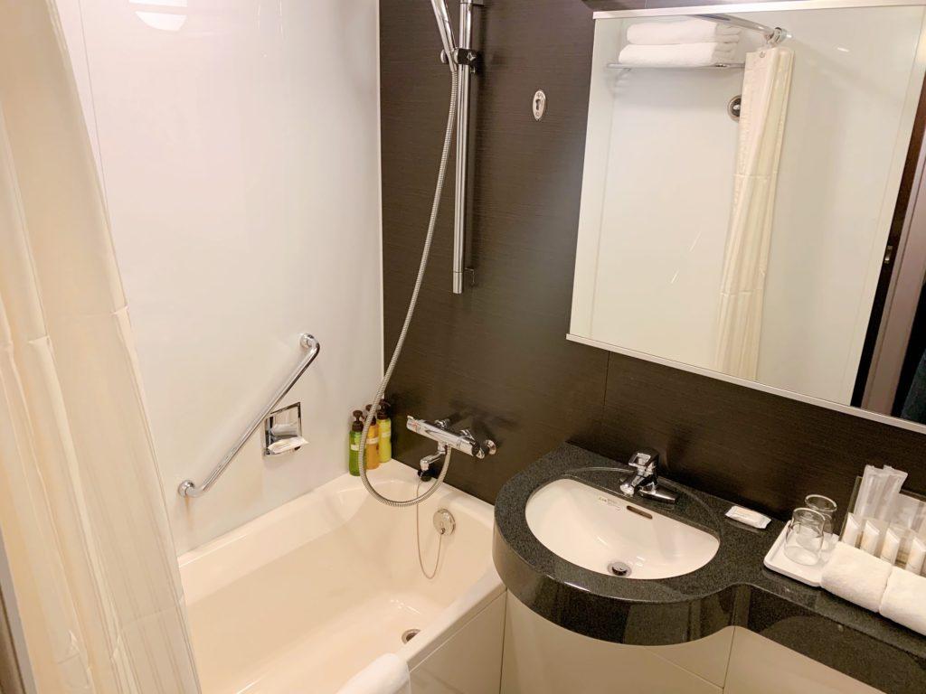ANAクラウンプラザホテル福岡 バスルーム
