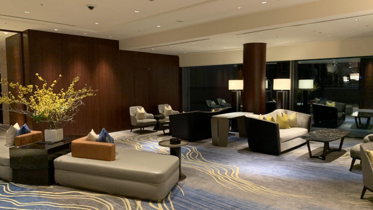 ストリングスホテル東京インターコンチネンタル 宿泊レビュー