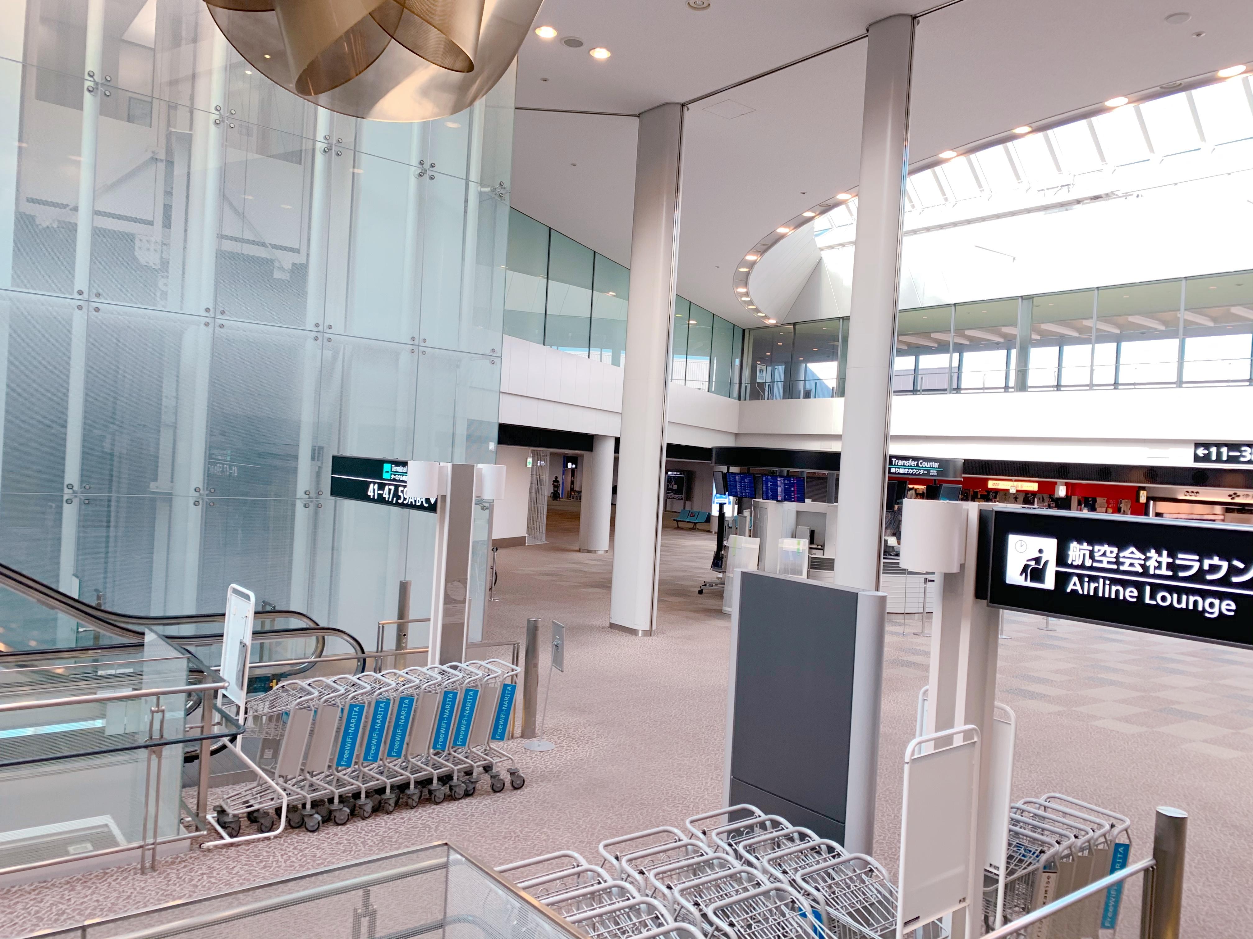 成田空港の現在
