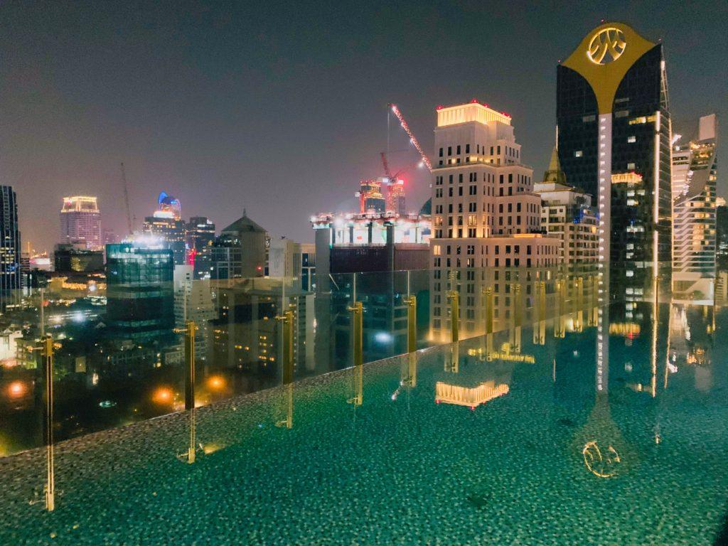 ホテル インディゴ バンコク ワイヤレス ロード プール