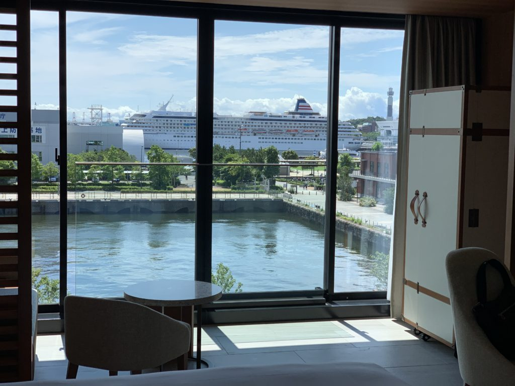 インターコンチネンタル横浜Pier 8 デラックス ダブル ベイビュー