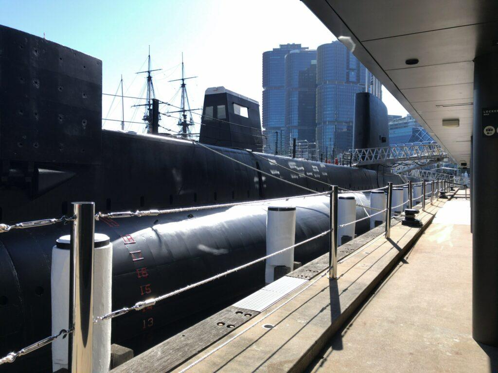 オーストラリア国立海洋博物館 潜水艦